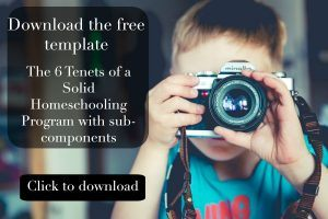 tenets of homeschooling