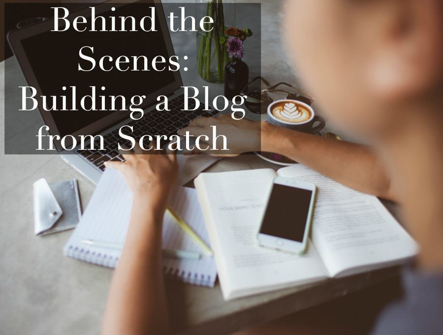 building a blog from scratch