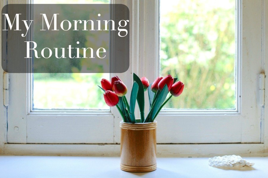 my morning routine for spiritual growth